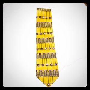 Frank Lloyd Wright tie. NWT. 100% silk handmade.